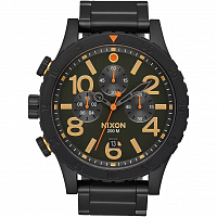 Nixon 48-20 Chrono All Black/Surplus