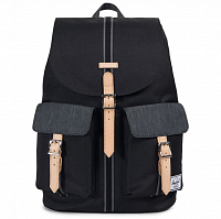 Herschel DAWSON Black/Black Denim