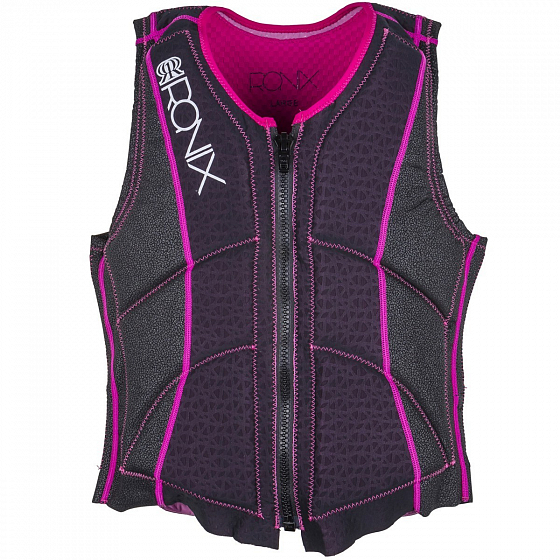 Жилет водный RONIX CORAL WOMEN'S - ATHLETIC CUT IMPACT JACKET SS17 от Ronix в интернет магазине www.traektoria.ru - 1 фото