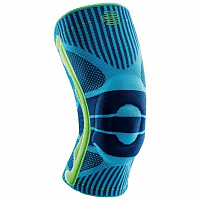 BAUERFEIND SPORTS KNEE SUPPORT BLUE