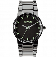 Nixon Cannon POLISHED GUNMETAL/LUM