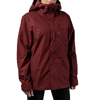 The North Face W NFZ INSULATED JACKET DEEP GARNET RED