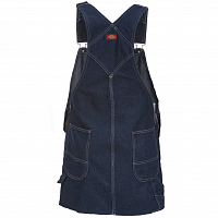 Dickies HOPEWELL DENIM BIB RINSED Rnsd Ind/Blu
