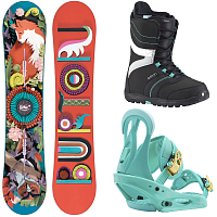 Burton W ALL-MOUNTAIN PACKAGE 5 0