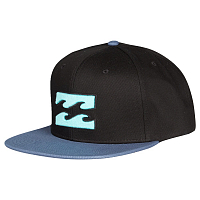 Billabong ALL DAY SNAPBACK Black/Blue
