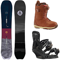 Burton W FREERIDE PACKAGE 0