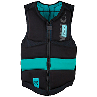 Ronix ONE CUSTOM FIT - BOA - IMPACT JACKET BLACK / MAN MINT