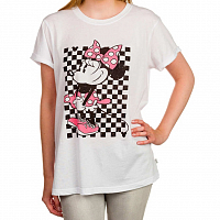 Vans MINNIE ROCKER TEE WHITE
