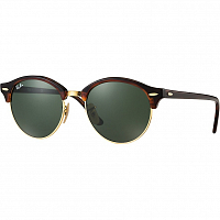 RAY BAN CLUBROUND RED HAVANA/GREEN