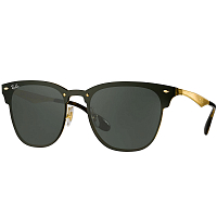 Ray Ban BLAZE CLUBMASTER BRUSCHED GOLD/DARK GREEN
