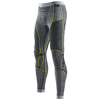 X-Bionic APANI MERINO BY X-BIONIC MAN UW PANTS LG black/grey/yellow