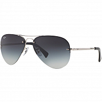Ray Ban RB3449 SILVER/GRAY GRADIENT