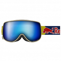 Spect RED BULL MAGNETRON EON MATT LIGHT GREY/BLUE SNOW-SMOKE WITH BLUE MIRROR