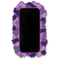RIPNDIP NERM CAMO IPHONE CASE PURPLE 7+/7S+ PURPLE