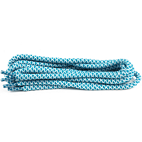 SOLEMATE LACES TURQUOISE/WHITE