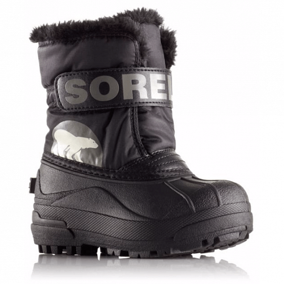 Ботинки SOREL CHILDRENS SNOW COMMANDER FW19 от SOREL в интернет магазине www.traektoria.ru - 1 фото