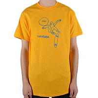 THRASHER KCUF S/S GOLD