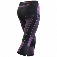 X-Bionic XB LADY ACC_EVO UW PANTS MEDIUM CHARCOAL/FUCHSIA