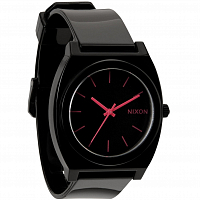 Nixon Time Teller P BLACK/BRIGHT PINK