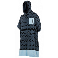 Mystic PONCHO ALLOVER Pewter