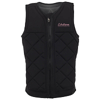 FOLLOW S.P.R CE IMPACT LADIES VEST BLACK
