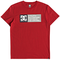 DC VERTCL ZONESS2 M TEES RACING RED