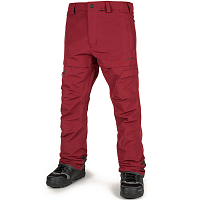 Volcom GI PANT BURNT RED