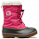 SOREL CHILDRENS YOOT PAC NYLON Ultra Pink, Alp