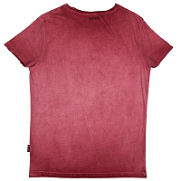 Mystic CONCRETE TEE RED DARK
