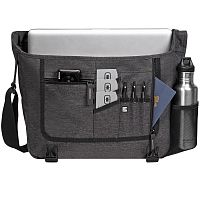 OGIO NEWT MESSENGER DARK STATIC