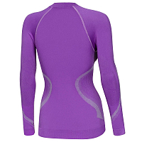 BodyDry X-FIT WOMEN LONG SLEEVE SHIRT VIOLET