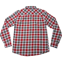 RVCA THAT'LL WORK FLANNEL ROSEWOOD