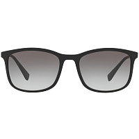 Prada Linea Rossa RED STRIPE LOGO BLACK RUBBER/GREY GRADIENT