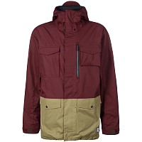 SESSIONS RANSACK JACKET Burgundy