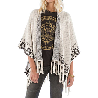 Billabong DESERT KISS PONCHO WHITE CAP