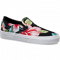 Vans Classic Slip-On (Hawaiian Floral) black