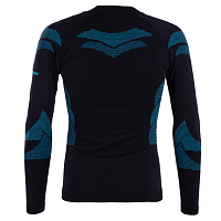 BodyDry LHOTSE LONG SLEEVE SHIRT Black/Blue