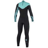 Mystic DIVA FULLSUIT 5/3MM FZIP WOMEN GREY
