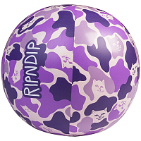 RIPNDIP BEACH BUM BEACH BALL PURPLE CAMO