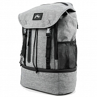 Rusty EXPLORER BACKPACK BLACK MARLE