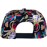 RIPNDIP LA MARCH 5 PANEL SNAPBACK BLACK
