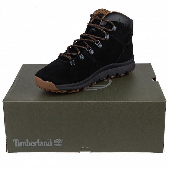 Ботинки TIMBERLAND WORLD HIKER MID FW19 от TIMBERLAND в интернет магазине www.traektoria.ru - 7 фото