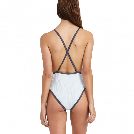 Купальник комплект RVCA LINEAR ONE PIECE SS19 от RVCA в интернет магазине www.traektoria.ru - 2 фото