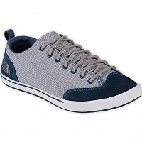 The North Face WOMEN BASE CAMP APPROACH SNEAKERS INDIAN TEAL BLUE/ATMOSPHERE GREY