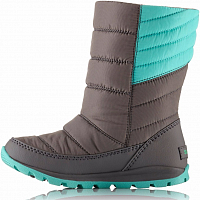 SOREL CHILDREN'S WHITNEY MID Dolphin, Quarry