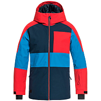 Quiksilver SYCAMORE YTH JK B SNJT DRESS BLUES