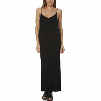 Rusty LUCK RIB DRESS BLACK