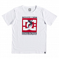 DC VISUAL TRE SS B B TEES SNOW WHITE