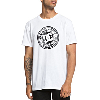 DC CIRCLE STAR SS M TEES SNOW WHITE