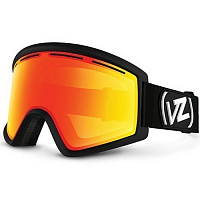 VonZipper CLEAVER Black Satin/Fire Chrome